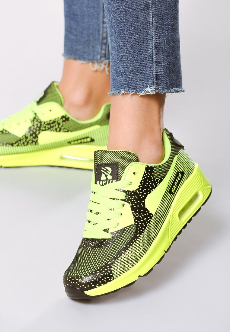 Lime Green Buty Sportowe Candy