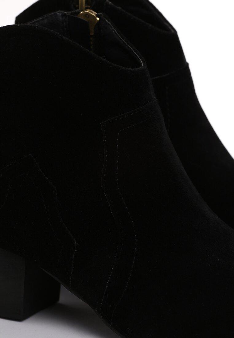 Czarne Botki Fleyn