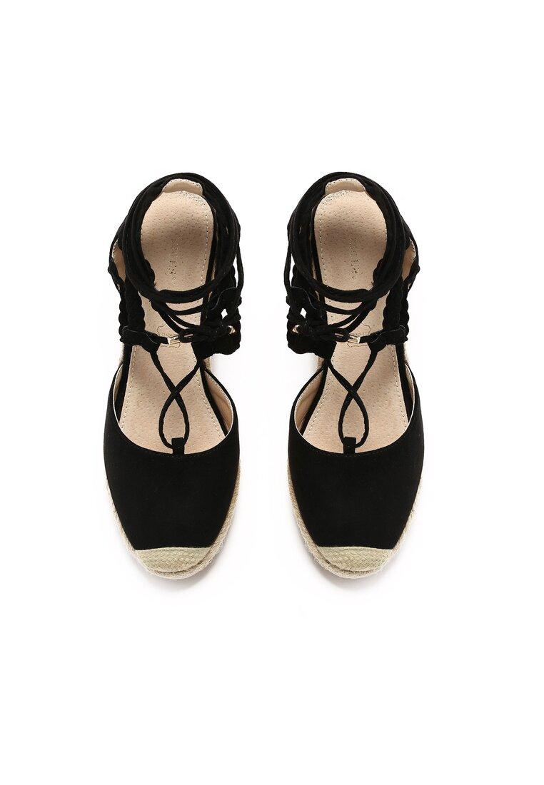 Czarne Sandały Cami