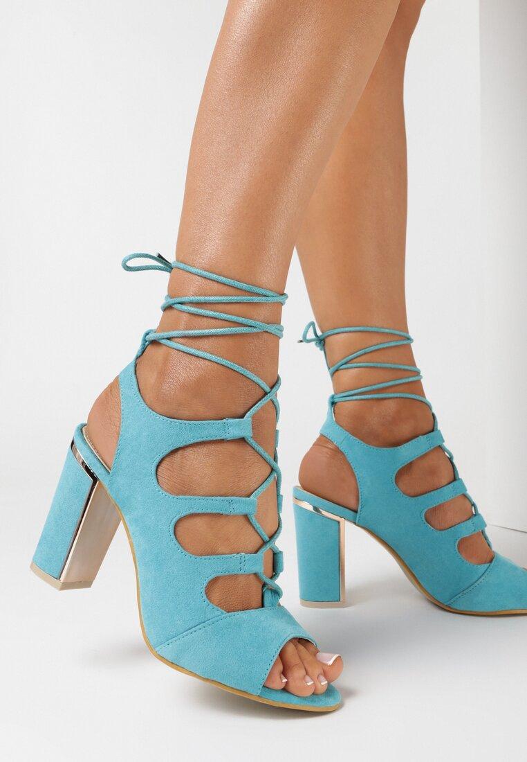 Niebieskie Sandały Lagales
