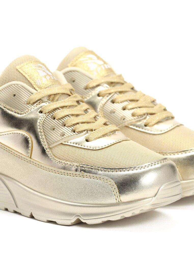 Złote Buty Sportowe Classical Nilda