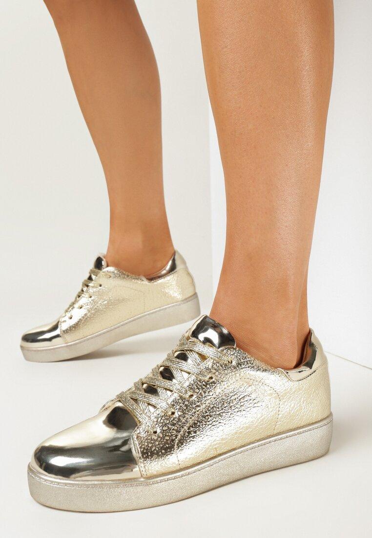 Złote Buty Sportowe Ansel