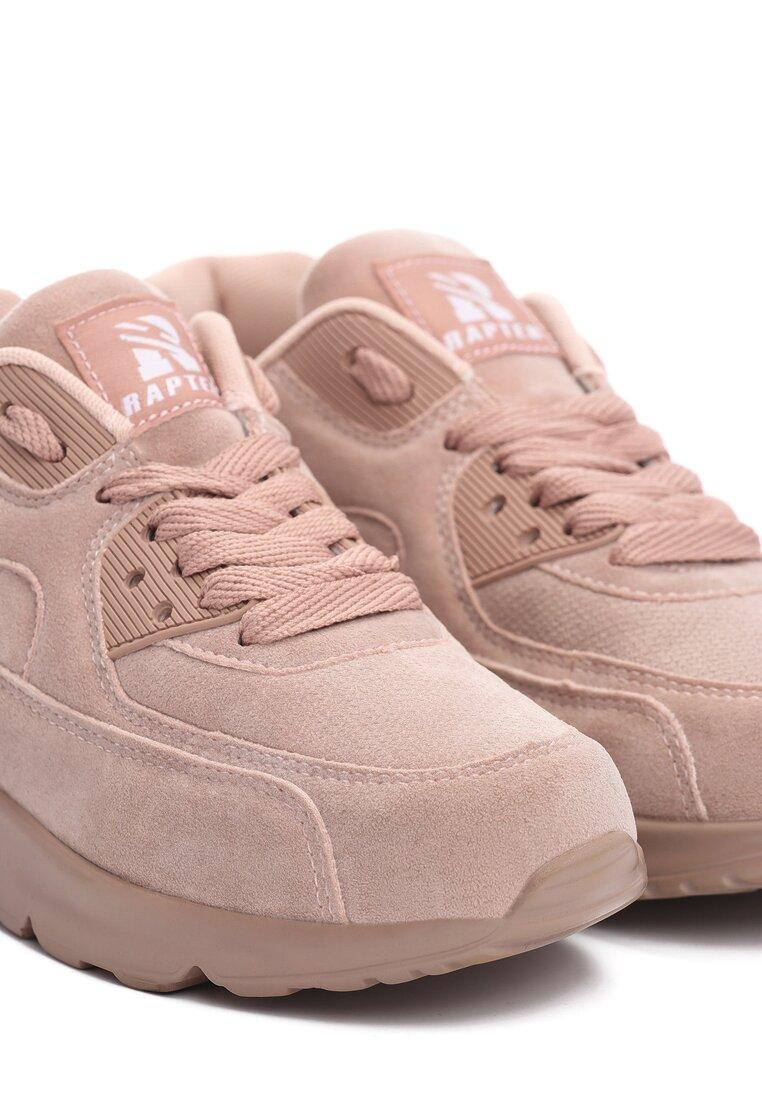 Różowe Buty Sportowe Vintage Nilda