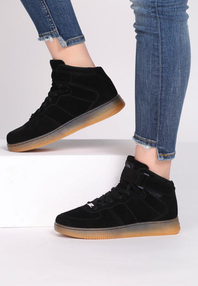 Czarne Buty Sportowe Marcie