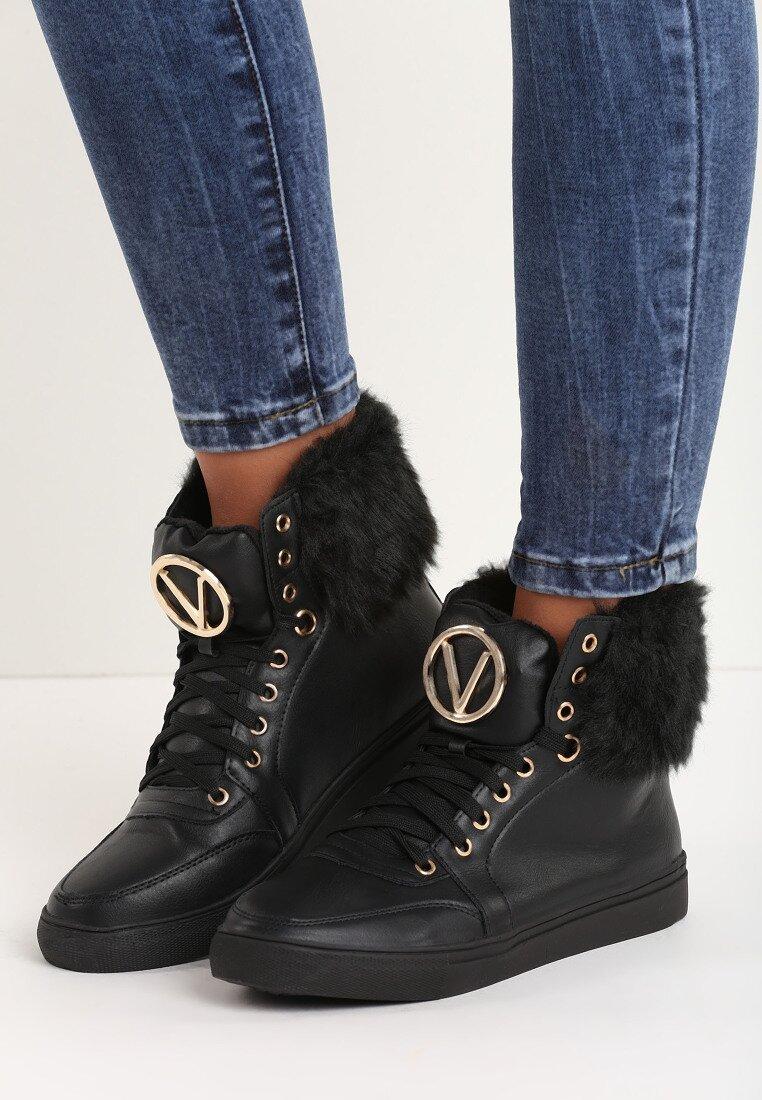 Czarne Sneakersy Sage