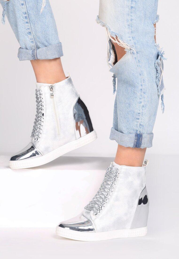 Białe Sneakersy Dino