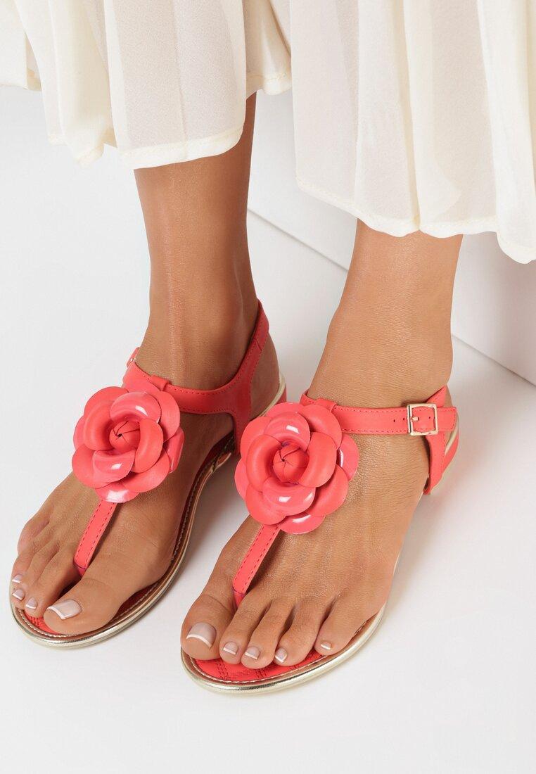 Czerwone Sandały Tangle
