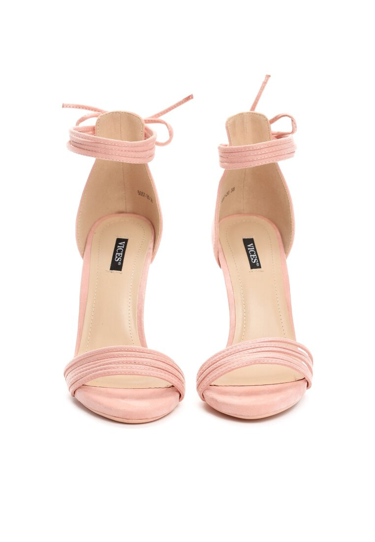 Różowe Sandały Flashes