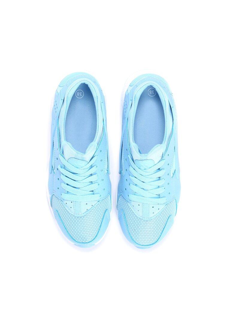 Jasnoniebieskie Buty Sportowe Peris