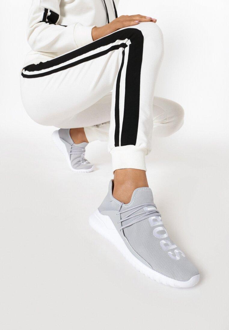 Szare Buty Sportowe Entien