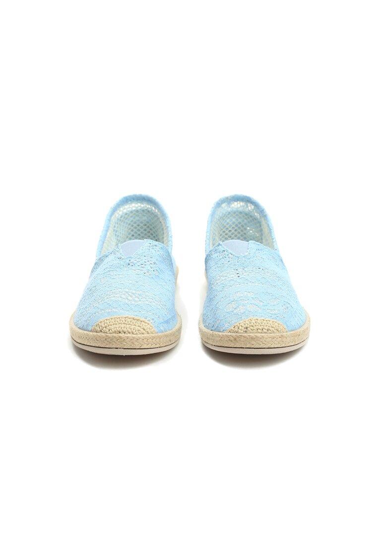 Błękitne Espadryle Whistler