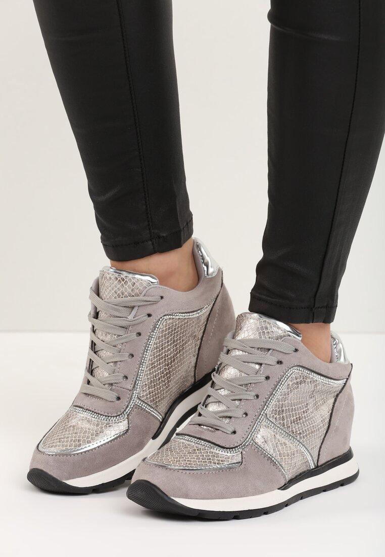 Szare Sneakersy Hypee