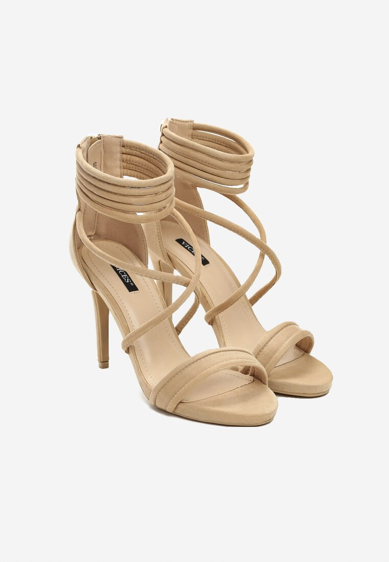 Beżowe Sandały Miss Independent