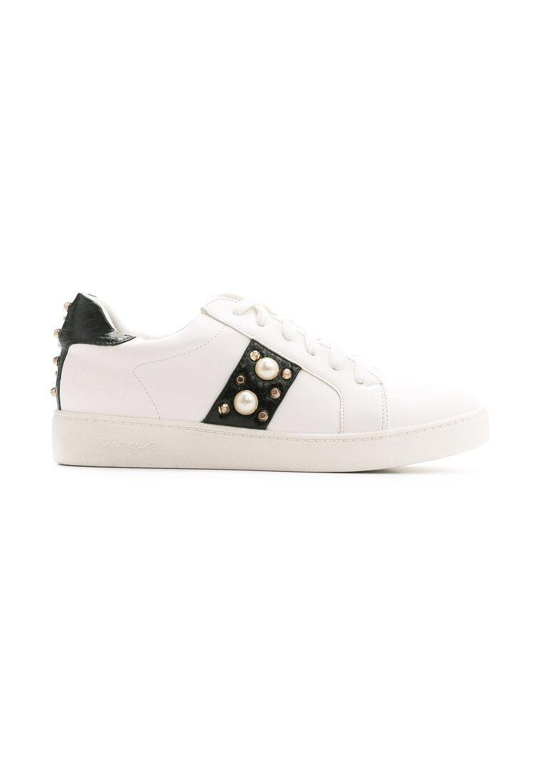 Biało-Czarne Buty Sportowe Howin