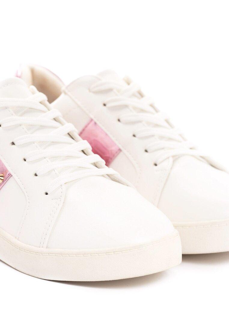 Biało-Fuksjowe Buty Sportowe Howin