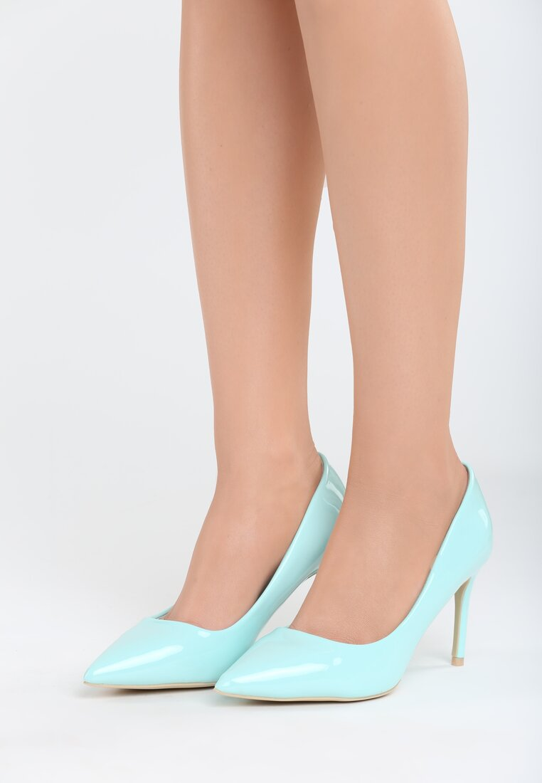 Niebieskie Szpilki Killer Heels