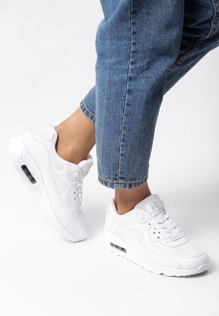 Białe Buty Sportowe Classical Nilda