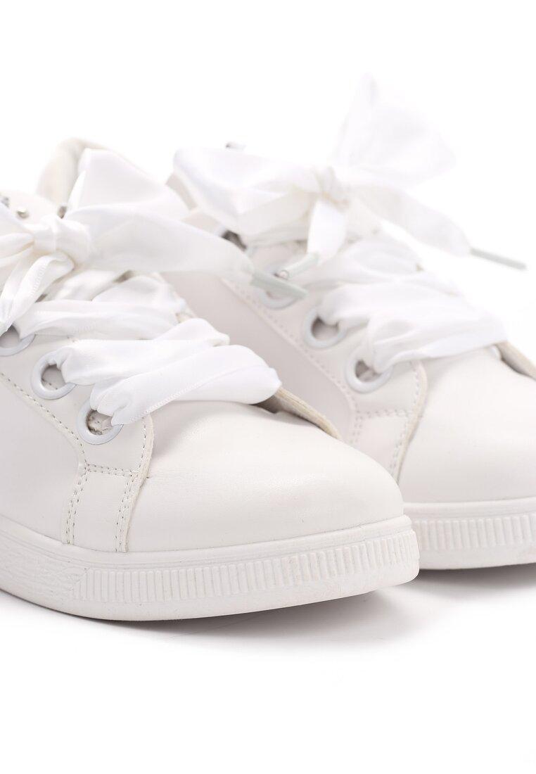 Białe Buty Sportowe Lovers Embrace