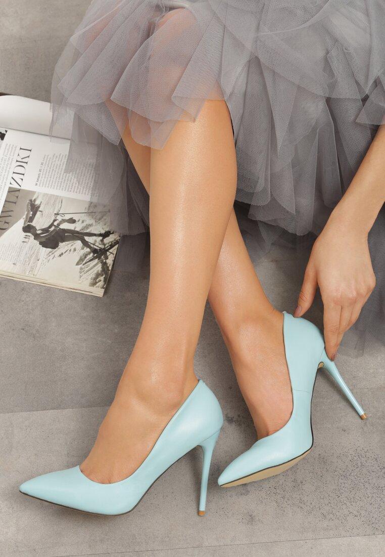 Błękitne Szpilki Modern Lady