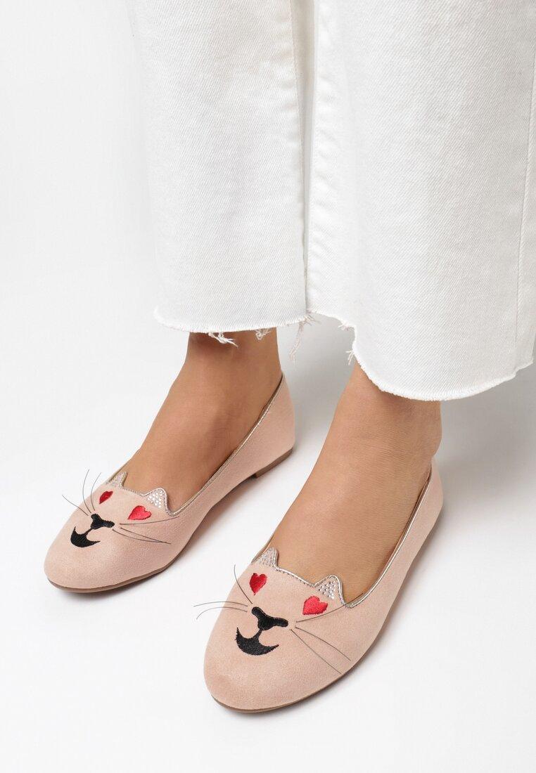 Różowe Balerinki Lovely Kitty vices
