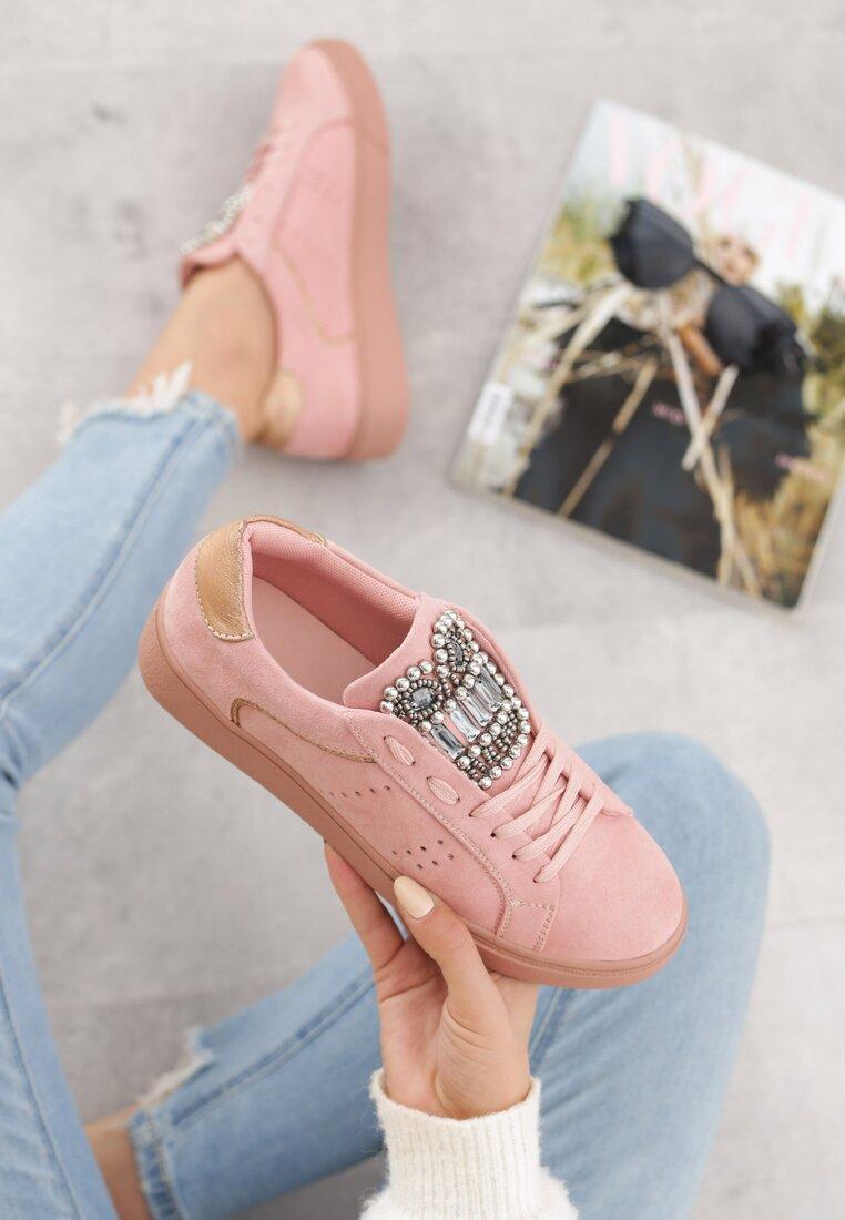 Różowy Buty Sportowe Rebellious
