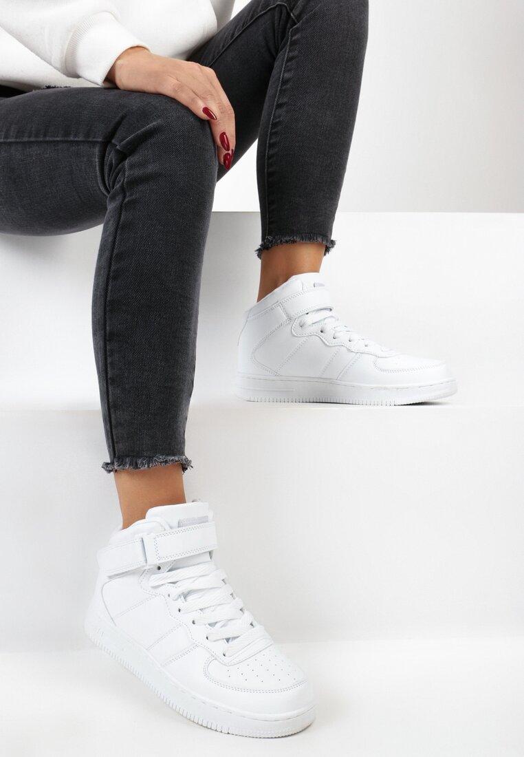 Białe Buty Sportowe Laura