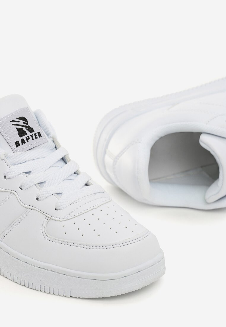 Białe Buty Sportowe Trini
