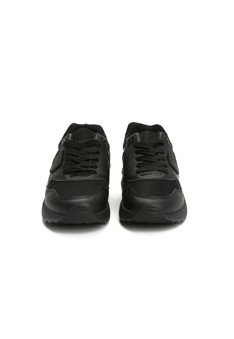 Czarne Buty Sportowe Gymnast