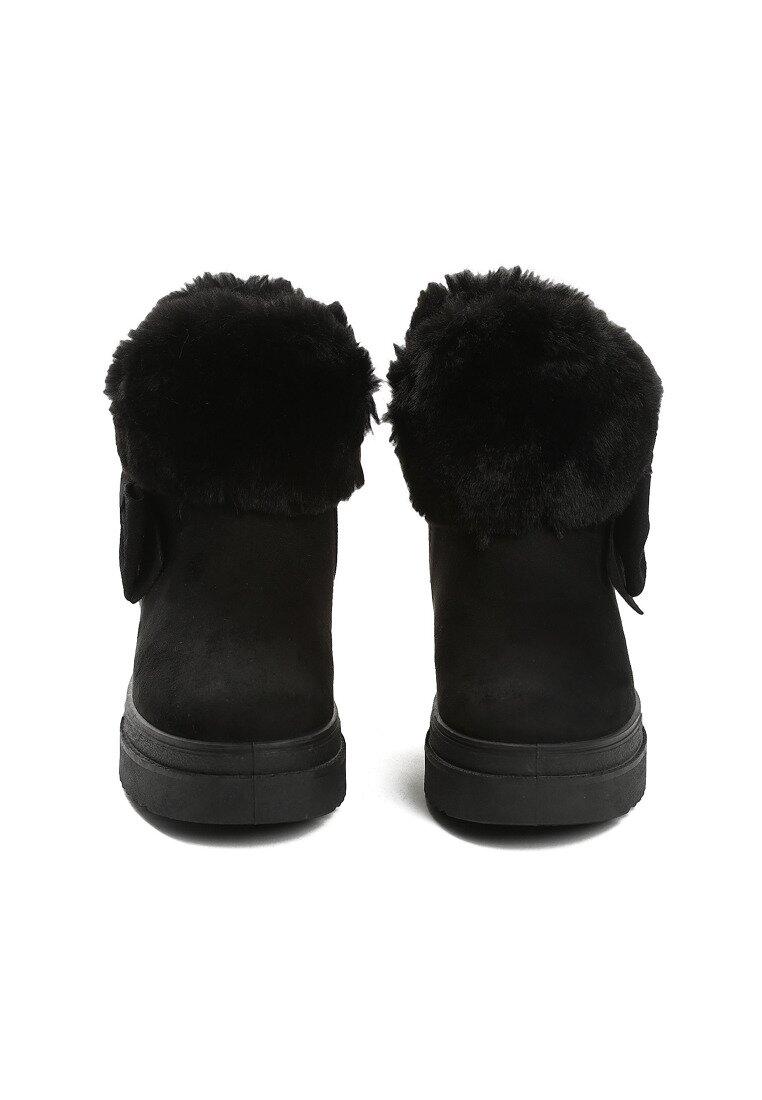 Czarne Śniegowce Warm Up