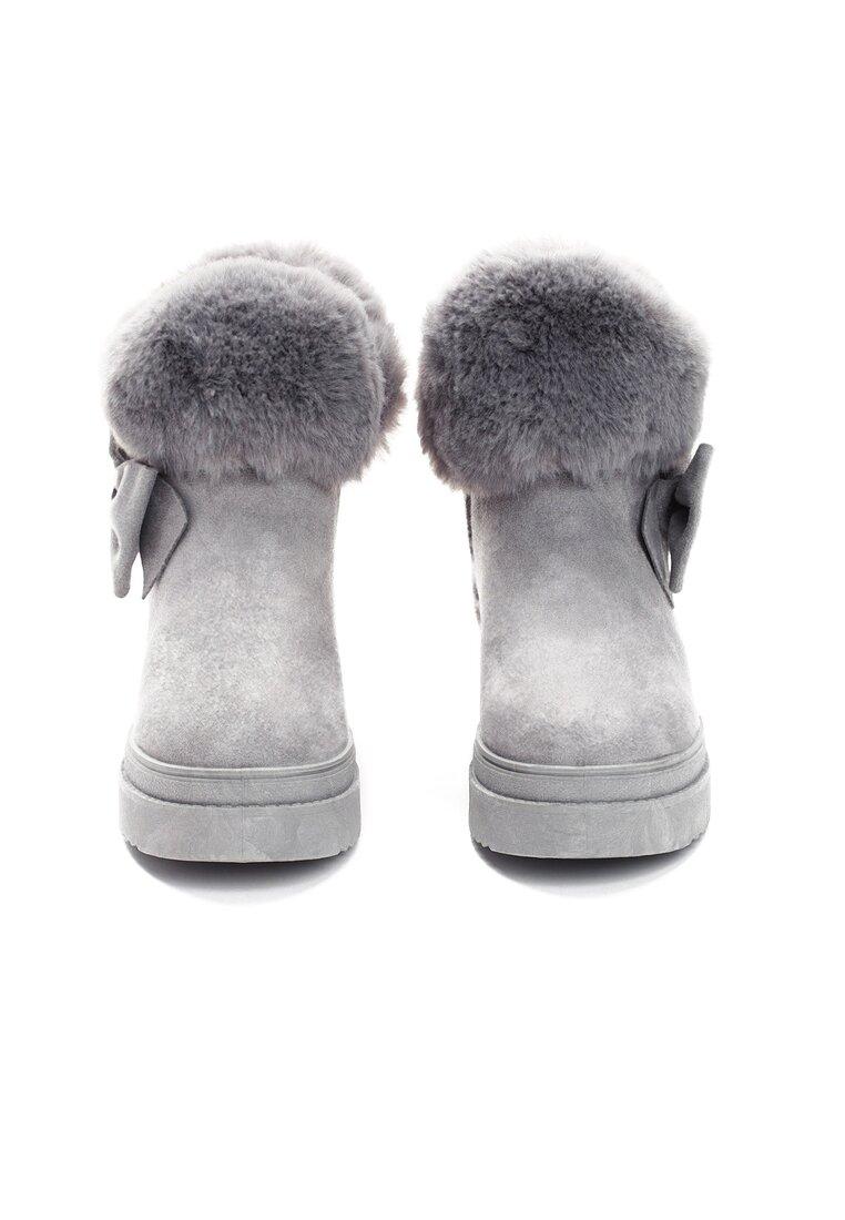 Szare Śniegowce Warm Up