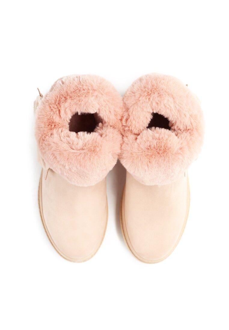 Różowe Śniegowce Warm Up