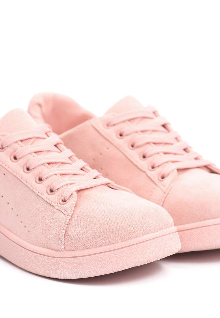 Różowe Buty Sportowe Mr Hairy