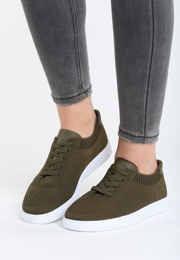 Brązowe Buty Sportowe Socksy