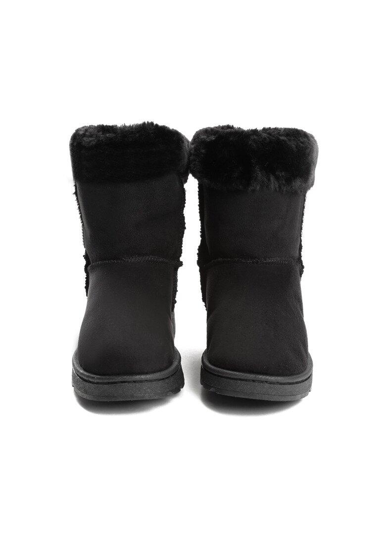 Czarne Śniegowce Vanity Fair