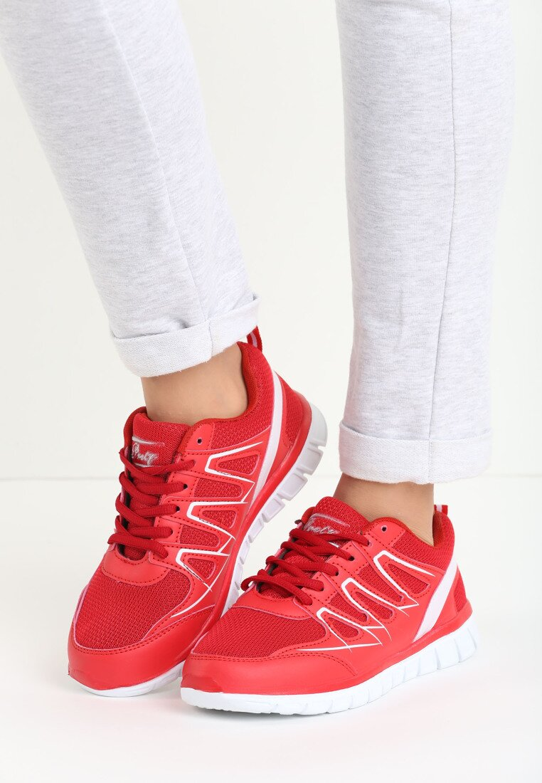 Czerwone Buty Sportowe Triple A