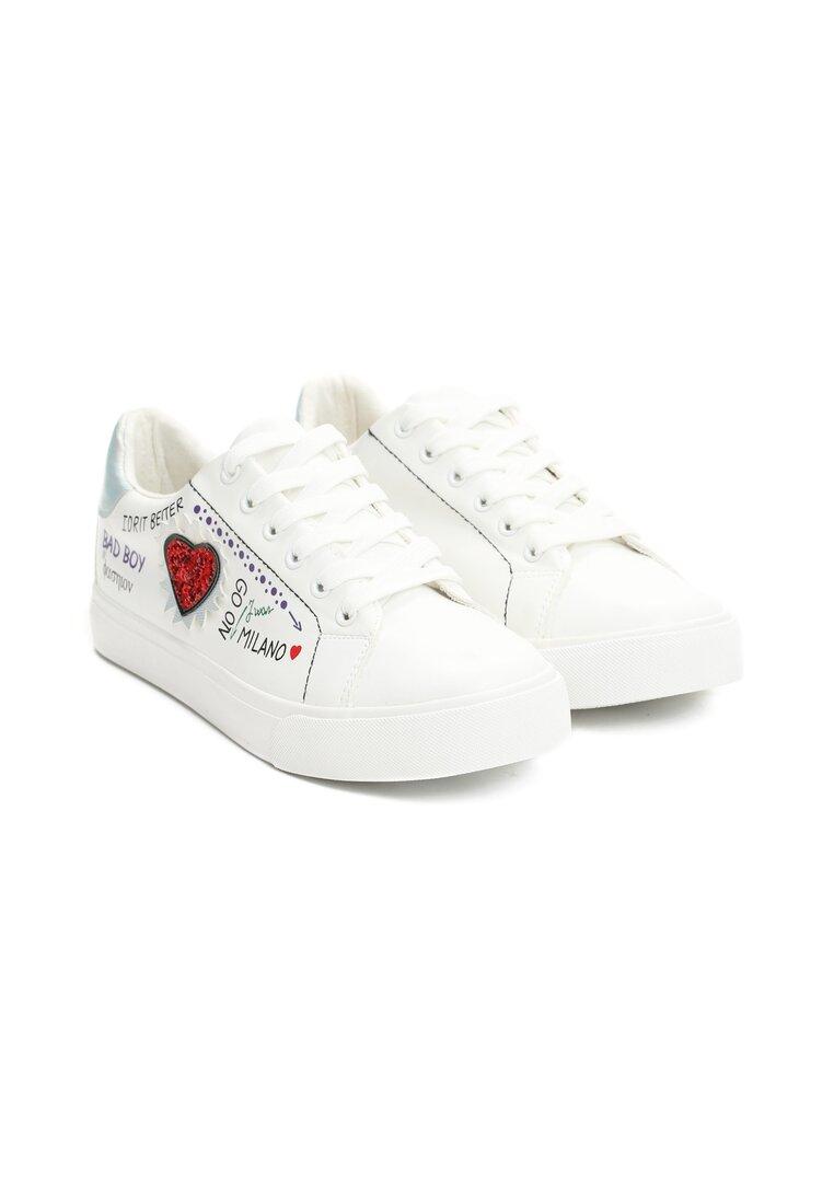 Białe Buty Sportowe Go On