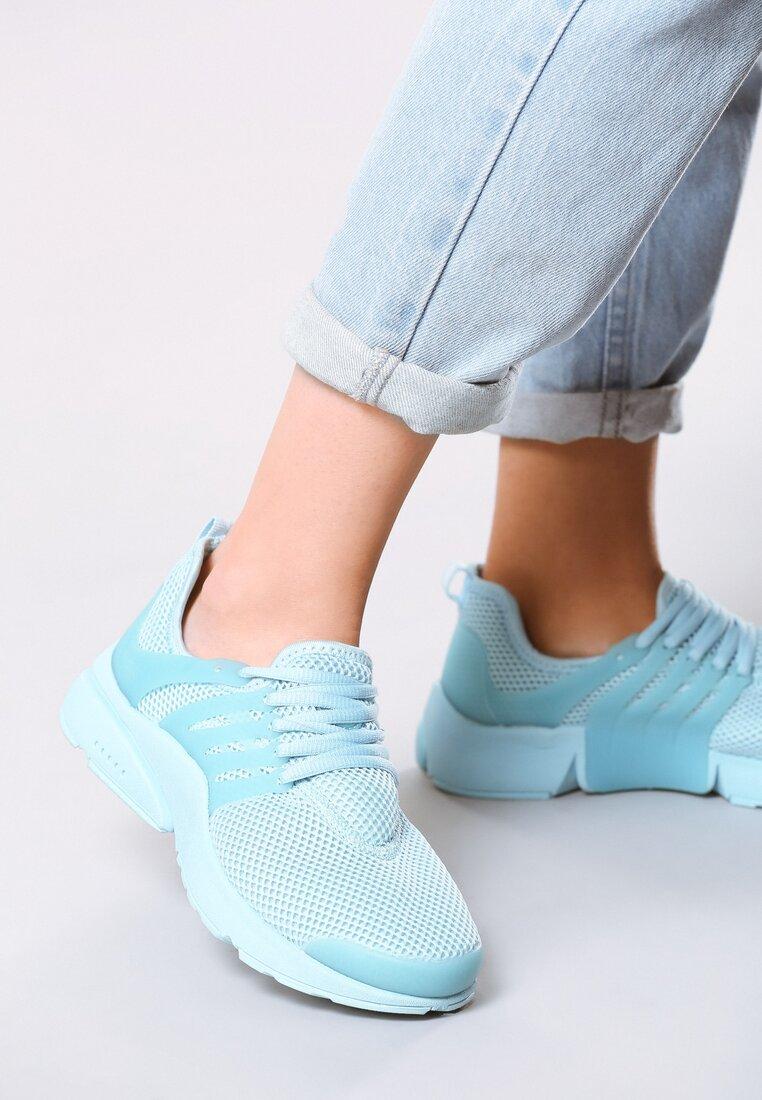 Niebieskie Buty Sportowe Soft