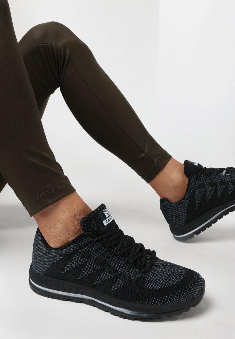 Czarne Buty Sportowe Survivor