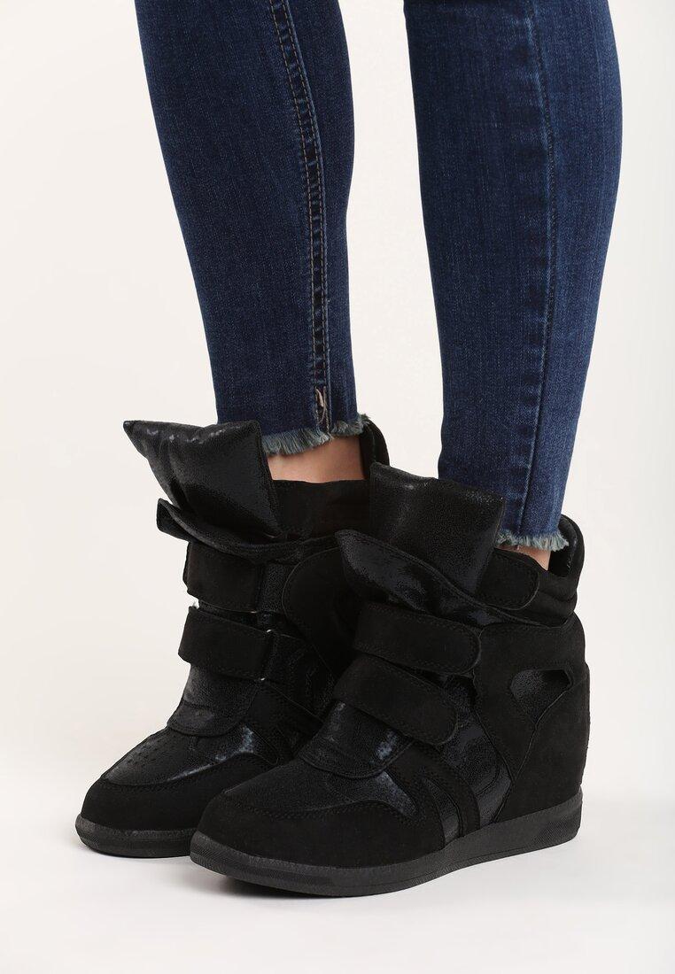 Czarne Sneakersy Strangers