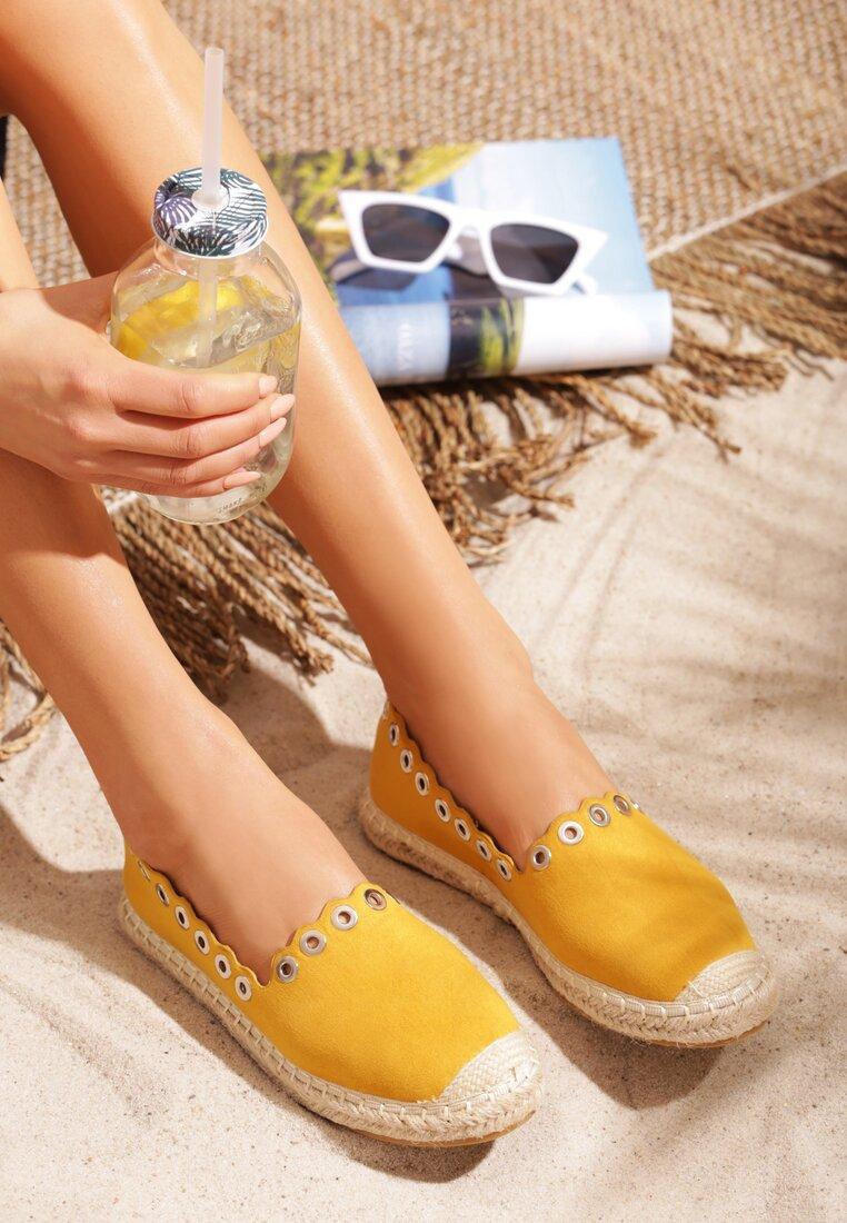 Żółte Espadryle Say Yes