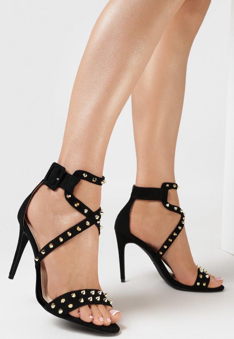 Czarne Sandały My Sins