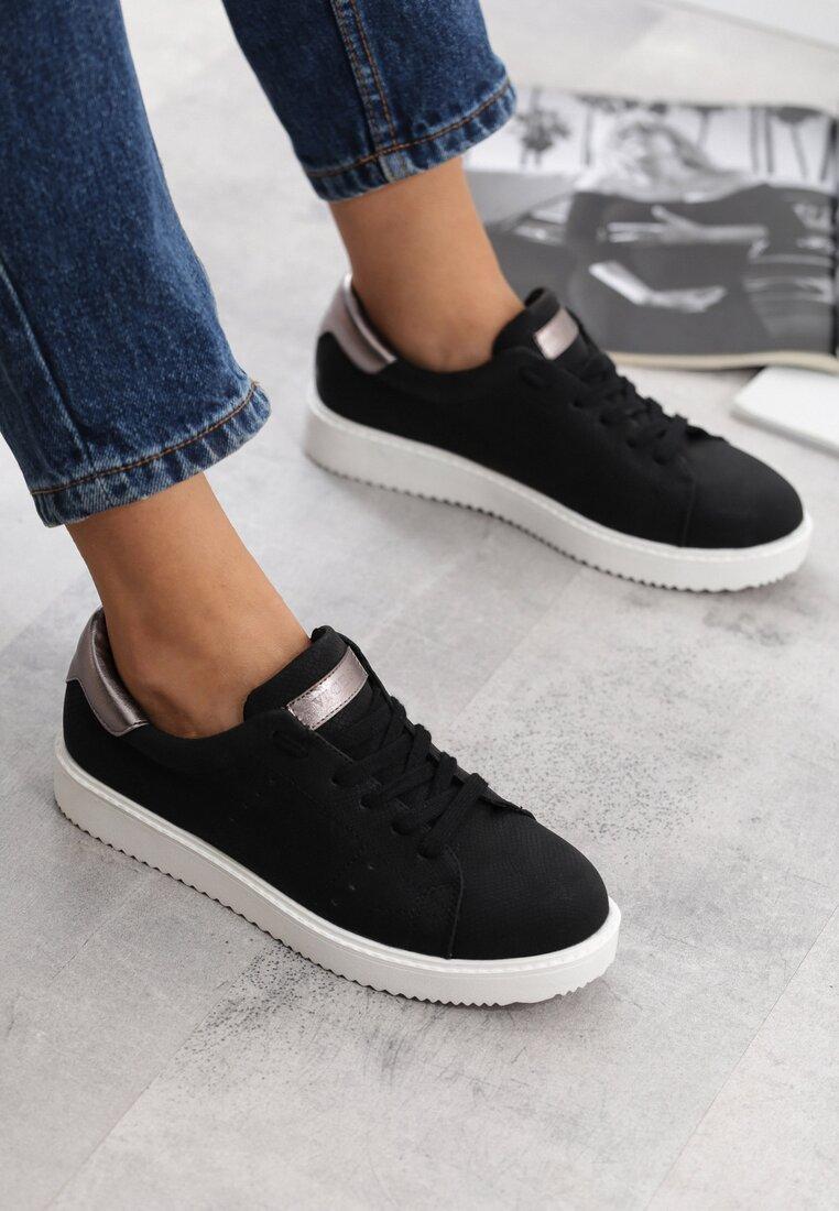 Czarne Buty Sportowe Dutch Girl