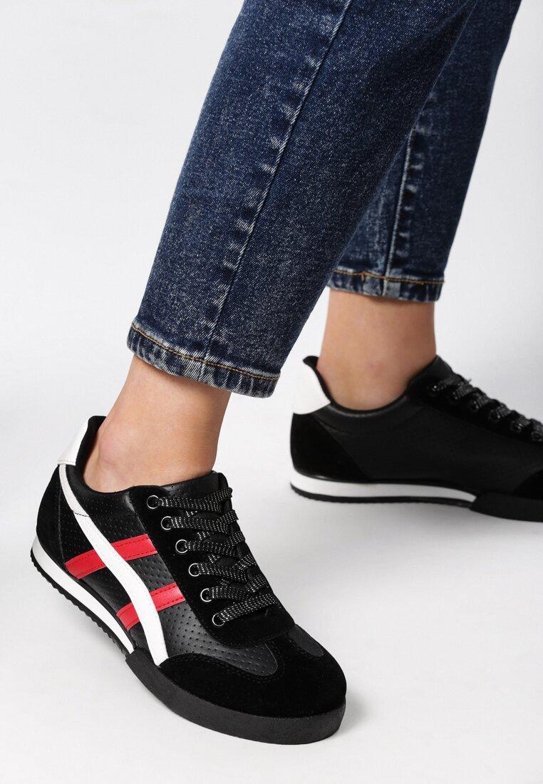 Czarne Buty Sportowe Humidly