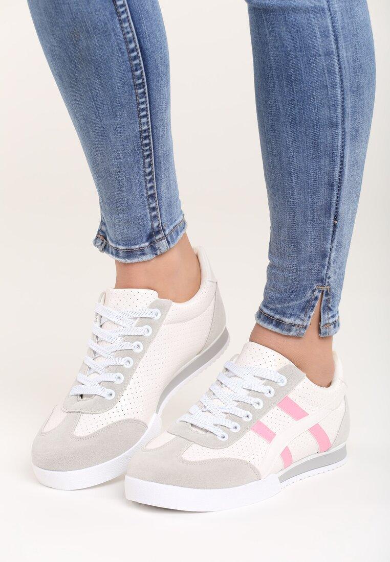 Białe Buty Sportowe Humidly