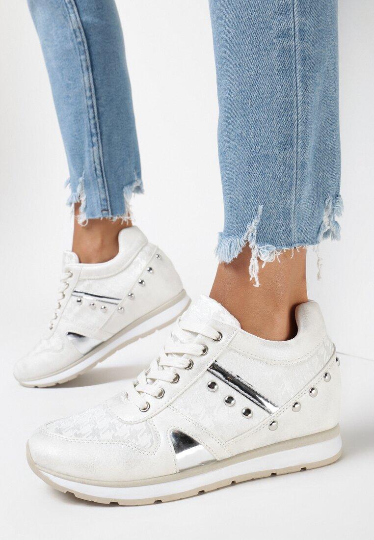 Białe Sneakersy She's a Mystery