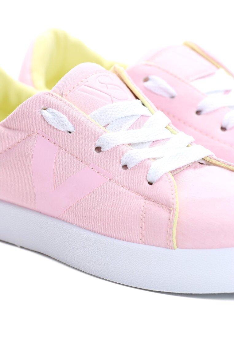 Różowe Buty Sportowe The Space