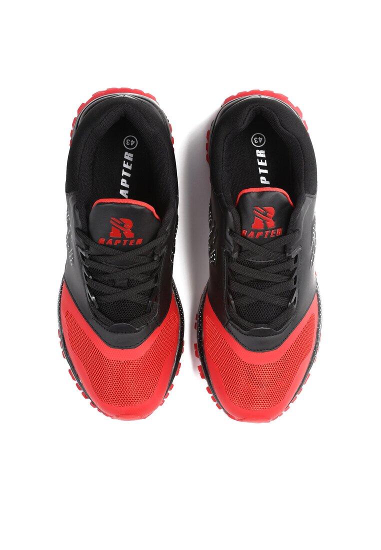 Czarno-Czerwone Buty Sportowe That Game