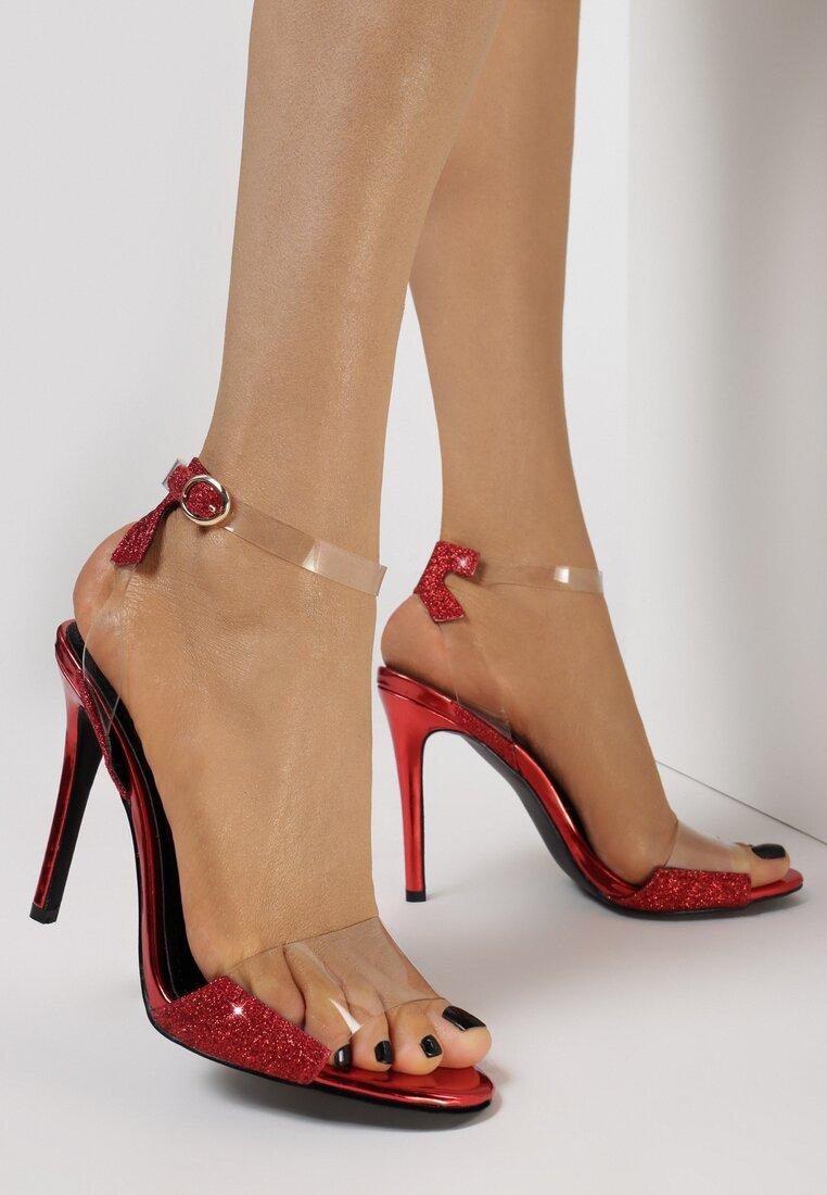 Czerwone Sandały Rosemary