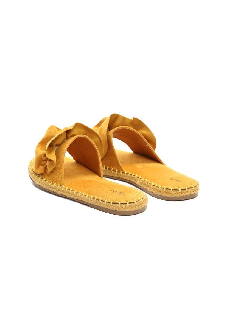 Żółte Klapki Avalanche