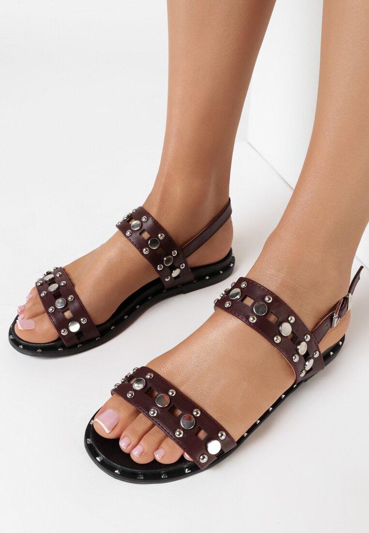 Brązowe Sandały Livid